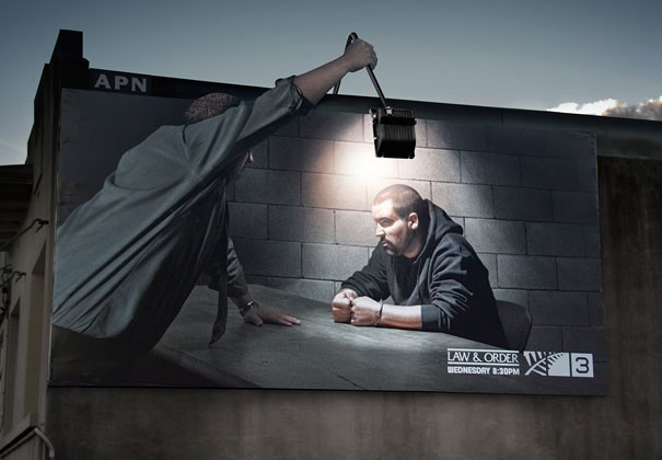 billboard ads law and order